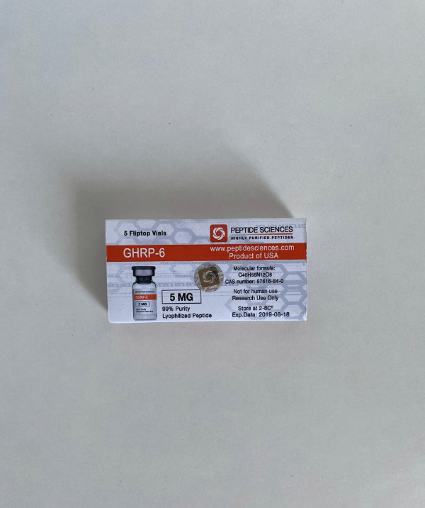 GHRP-6 5 mg Peptide Sciences
