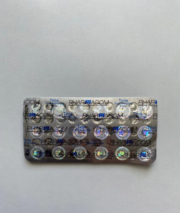 Tiros (T3) 50 mg Pharmacom Labs