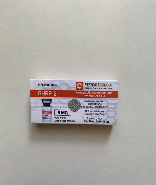GHRP-2 5 mg Peptide Sciences