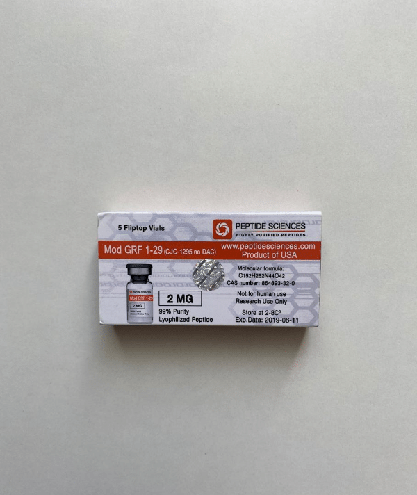 MOD GRF 1-29 2 mg Peptide Sciences