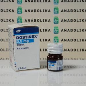 Verpackung Dostinex 0,5 mg Pfizer Labs