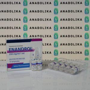 Verpackung Enandrol (Testosterona E) 250 mg Balkan Pharmaceuticals