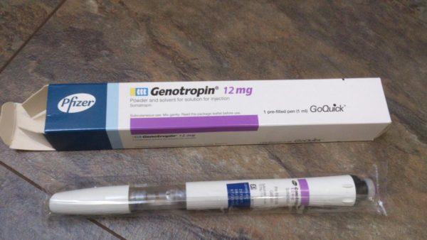 Genotropin Original 36 IU Pfizer Labs
