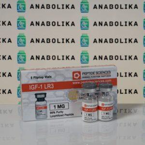 Verpackung IGF1 LR3 1 mg Peptide Sciences