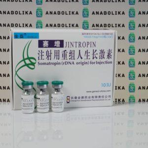 Verpackung Jintropin (Somatropin) 10 IU Gene Science Pharmaceuticals