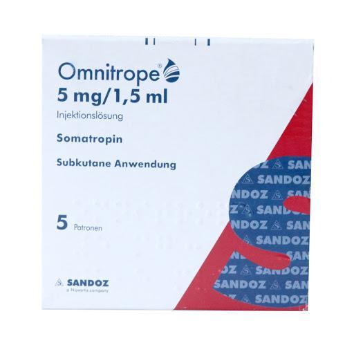 Omnitrop 15 IU Sandoz