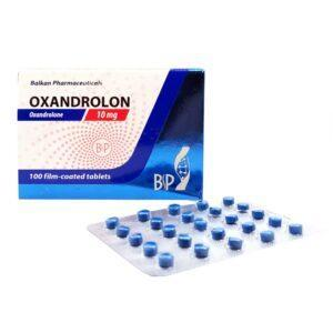 Oxandrolon 10 mg Balkan Pharmaceuticals