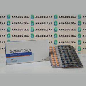 Verpackung Oxandrolonos 10 mg Pharmacom Labs