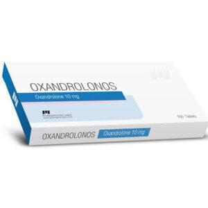 Oxandrolonos 10 mg Pharmacom Labs