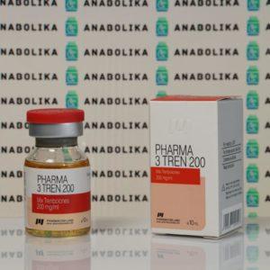 Verpackung Pharma 3 Tren 200 mg Pharmacom Labs