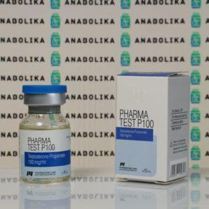 Verpackung Pharma Test P 100 mg Pharmacom Labs