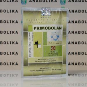 Verpackung Primobolan (Methenolone Acetate) 25 mg Hubei Huangshi Nanshang
