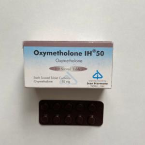 Oxymetholone (Anabol) 50 mg Iran Hormone