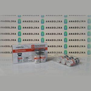 Verpackung Sermorelin 2 mg Peptide Sciences