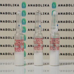 Verpackung Stanozolol Injection (Winstrol) Aburaihan 50 mg