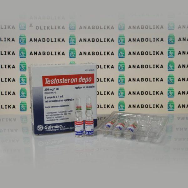 Testosteron Depo (Testosteron Enanthat) 250 mg Galenika