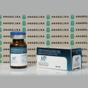 Verpackung Drostanolone Propionate 100 mg Magnus Pharmaceuticals