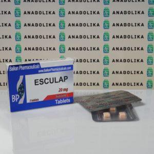 Verpackung Esculap 20 mg Balkan Pharmaceuticals