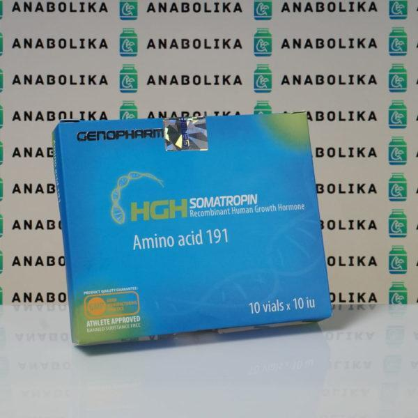 Verpackung HGH Somatropin Amino acid 191 10 IU Genopharm