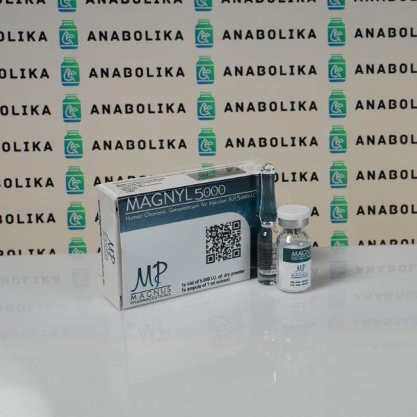 Verpackung Magnyl 5000 IU Magnus Pharmaceuticals