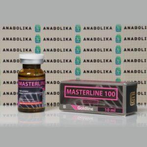 Verpackung Masterline 100 mg Gold Line
