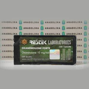 Verpackung Oxandrolone Forte 10 mg Restek Laboratories