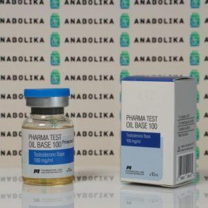 Verpackung Pharma Test Oil Base 100 mg Pharmacom Labs