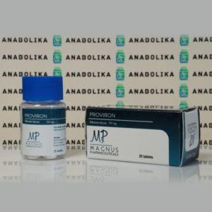 Verpackung Proviron 50 mg Magnus Pharmaceuticals