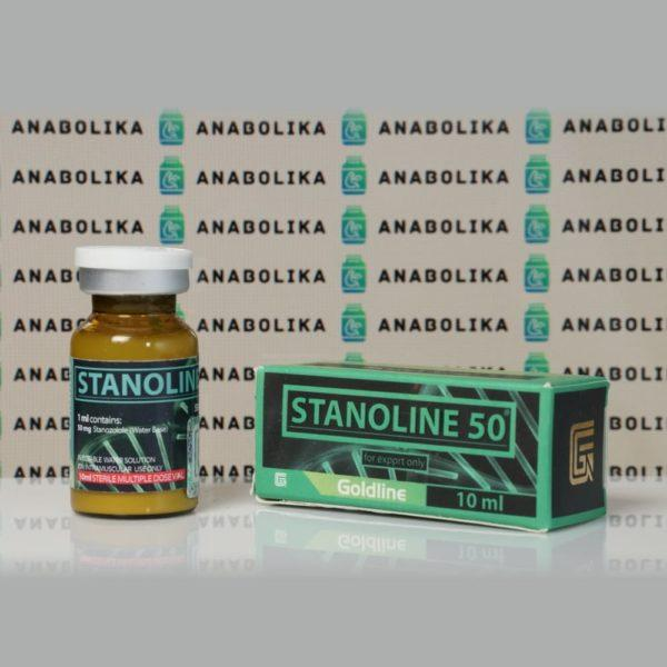 Verpackung Stanoline 50 mg Gold Line