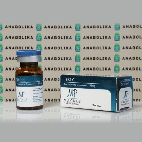 Verpackung Test C ( Testosterone Cypionate) 250 mg Magnus Pharmaceuticals