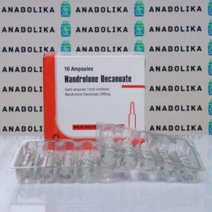 Verpackung Nandrolone Decanoate 200 mg Aburaihan