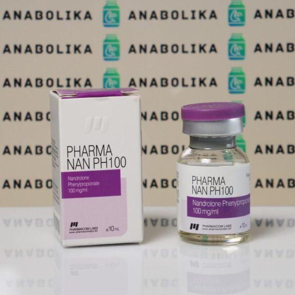 Verpackung Pharma Nan PH100 100 mg Pharmacom Labs
